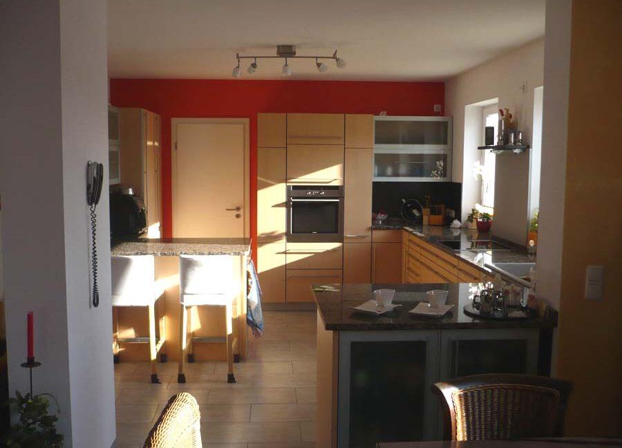 Casa Fortuna-Blick in die Küche