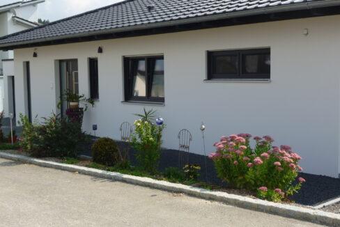 Haus Amaliel Front vor dem Haus
