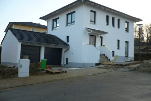 Haus Raphael Eingangsseite