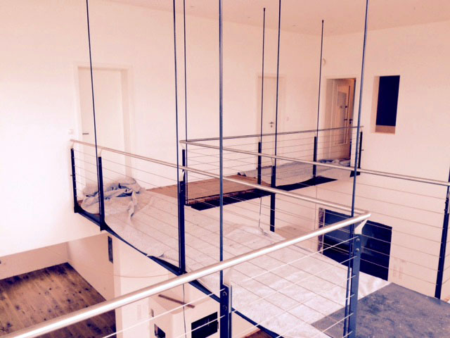 Haus Serafina Schwabhausen Steg über Galerie